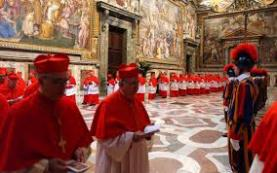 I cardinali in conclave